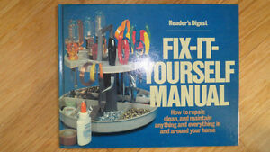 FIX-IT-YOURSELF MANUAL Cambridge Kitchener Area image 2