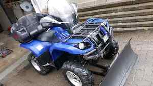 YAMAHA Grizzly 660 4X4  automatique 3150 KM+ pelle