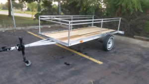 Aluminum trailer 50inchs by 118inchs