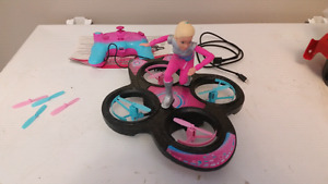 Barbie remote controlled hover board