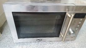 BREVILLE MICROWAVE Chrome Perfect Working Order