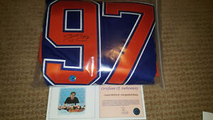 Connor McDavid Signed / Autographed Blue Edmonton Oilers Jersey Strathcona County Edmonton Area image 4