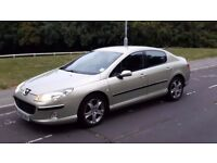 AUTOMATIC DIESEL PEUGEOT 407 2.0 HDI GREAT CONDITION M.O.T 06.2018