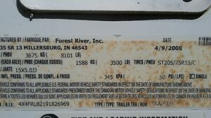 Like New, Used five times 2008 Rockwood Signature Ultralight Strathcona County Edmonton Area image 2