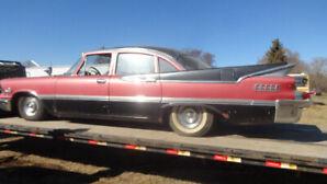 classic 1959 dodge custom royal lancer 4 door sedan