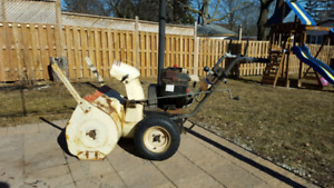 "26"" cut Snowblower"