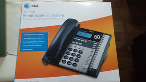 AT&T 1070 4 Line Office Business Intercom Paging Call Transfer