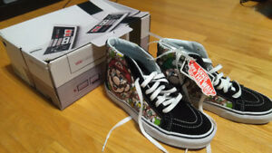 Vans Sk8-Hi Nintendo Mario and Luigi Shoes