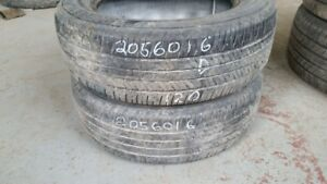 Pair of 2 Bridgestone Ecopia EP422 205/60R16 tires (50% tread li