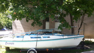 Sailboat 26 feet Macgregor