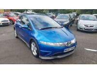 2007 HONDA CIVIC I-VTEC TYPE-S HATCHBACK PETROL