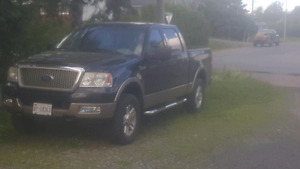 F150 4x4 lariat  for sale or trade for quad&trailer package