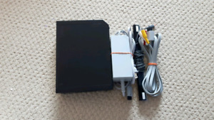 Black wii console only