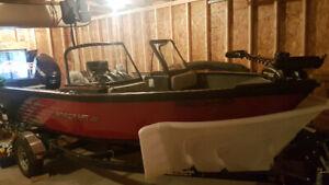 "Starcraft 17'8"" Aluminum Fishing and Ski boat"