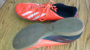 Indoor soccer shoes, size 8 & 7.5
