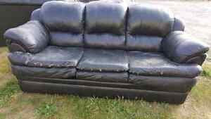 free 3 piece leather couch set