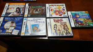 Assortment of DS games
