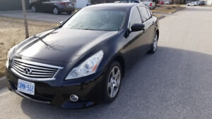 INFINITI G37X AWD FULLY LOADED - GOOD COND.