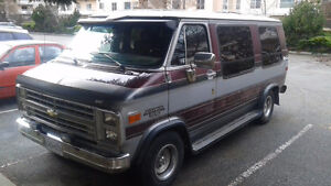 1989 Chevrolet G20 (Willing to exchange with $)