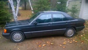1993 Mercedes 190E - Updated ad