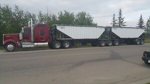 Looking for Owner Operators with Super B Grain Trailers