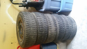 Michelin tires with rims x6 195/70R15