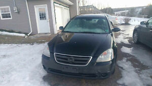 2003 Nissan Altima for parts or repair
