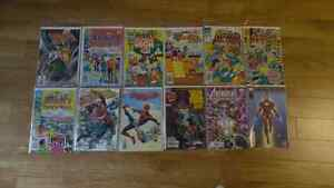 Assorted Comics (Archie,spiderman,ironman etc.) ALL MINT COND
