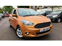 2016 Ford KA-Plus 1.2 85 Zetec 5dr Manual Petrol Hatchback