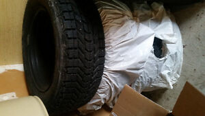 2 sets of winter tires Kitchener / Waterloo Kitchener Area image 2