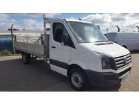 Volkswagen Crafter 2.0TDi ( 136PS ) CR35 LWB DROPSIDE TAILLIFT
