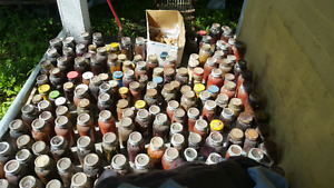 Free canning jars lots from 1950