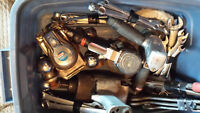 misc airtools, wrenches, grinder , torches