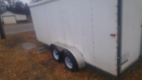 Enclosed trailer for rent 100.00 per day