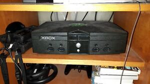 XBox Original Console - 35 Games and 4 Controllers