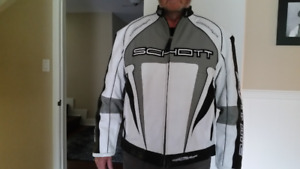 SCHOTT NYC motorcycle jacket, 10 out of 10. unwanted gift.