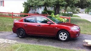 Mazda 3 GX 2008 manuelle (Groupe électrique)