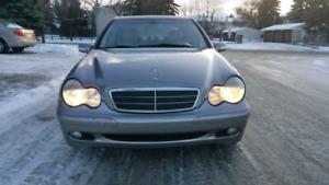 2004 Mercedes Benz C240 1.8L Supercharged! LOW KMS!