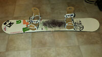 2012 Rome snowboard (sz-160) and bindings, and 2014-K2 boots