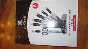 Kitchen Knife Set 8 Pieces by Carl Weill - Brand New Knife Set Gatineau Ottawa / Gatineau Area image 8