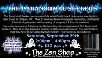 The Paranormal Seekets Special Event