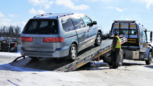 We'll pay you top dollar for your scrap car, and remove it too!