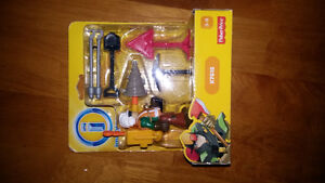 Imaginext City Construction Worker Playset Fisher Price