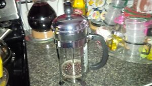 bodum french press new) good for coffee or tea