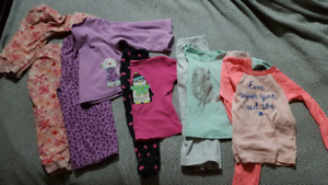 5 pairs of 3t jammies