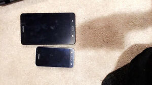 Samung phone and tablet