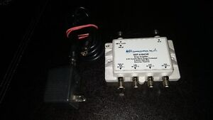 TV Signal Amplifier - 4 port with power adapter