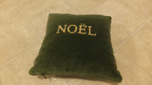 Peace/Noel Accent Pillow