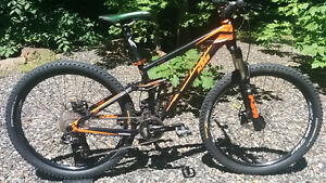 vélo double suspensions KTM Lycan 272
