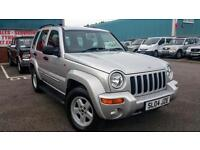 JEEP CHEROKEE 2.8 DIESEL 2004 AUTO 4X4 LOW MILES, LONG MOT FULLY SERVICED